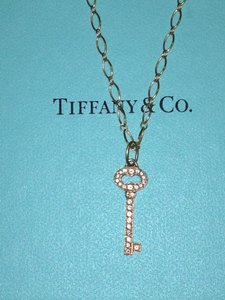 Tiffany & Co. Tiffany & Co. Vintage Oval Key Charm and Chain