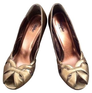 Mossimo Metallic Gold Formal