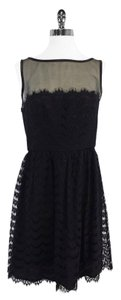 Trina Turk short dress Black Lace Sleeveless on Tradesy