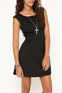 Kirra short dress Black on Tradesy