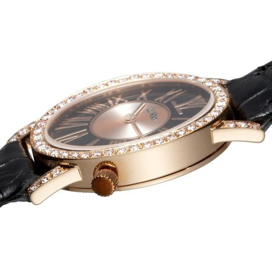 LeVian Centurion LIMITED EDITION 18 K ROSE GOLD with WHITE DIAMONDS Women Wrist Watch