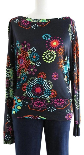 Preload https://item1.tradesy.com/images/matthew-williamson-multicolored-blouse-size-6-s-964025-0-0.jpg?width=400&height=650
