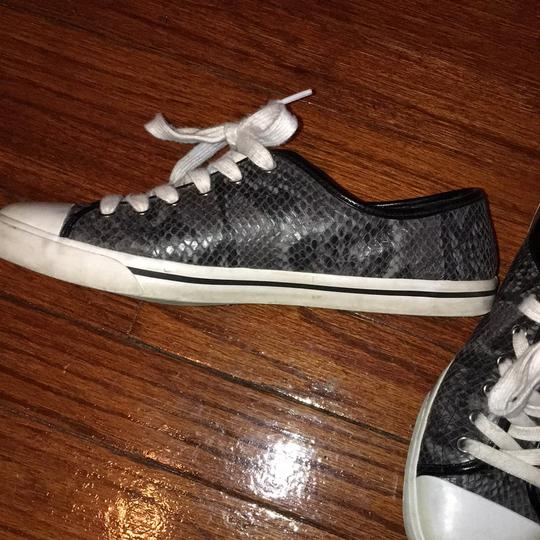 Cole Haan Gray snakeskin Athletic