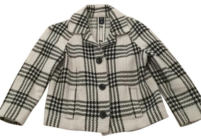 Preload https://item5.tradesy.com/images/gap-black-and-white-pea-coat-size-8-m-9640549-0-1.jpg?width=400&height=650