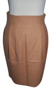 Other Wool Work Office Career Lining Skirt Beige