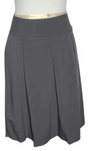 Helen Wang Office Work Job Mini Mini Skirt Gray