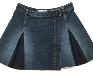 A|X Armani Exchange Mini Skirt Denim