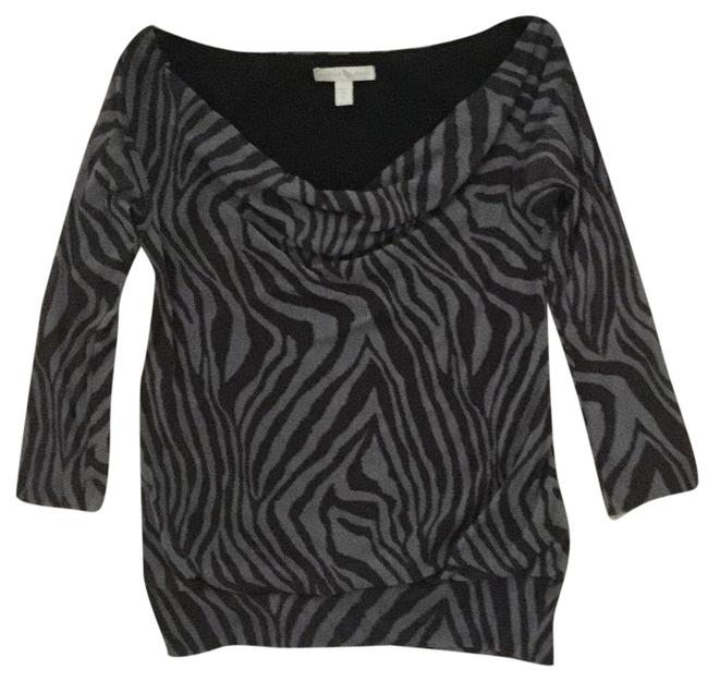 Preload https://item3.tradesy.com/images/weston-wear-black-and-grey-blouse-size-6-s-9640987-0-1.jpg?width=400&height=650