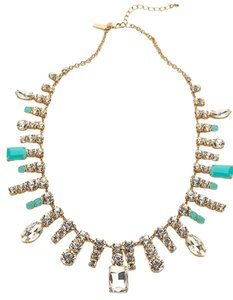 Kate Spade Modern Asymmetrical Light Blue Accents Kate Spade Opening Night Spray Necklace NWT Delicate Design Incomparable Beauty!