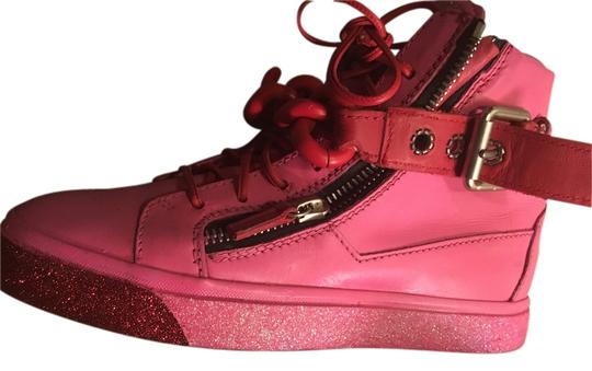 Preload https://item5.tradesy.com/images/giuseppe-zanotti-pink-and-red-sneakers-size-us-75-regular-m-b-9641569-0-1.jpg?width=440&height=440