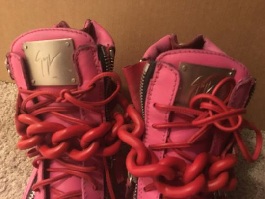 Giuseppe Zanotti Pink and red Athletic
