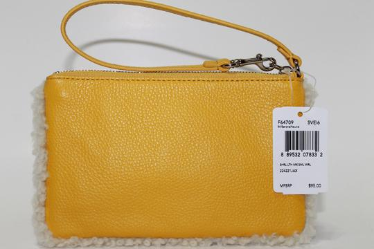 Coach Wallet F64709 Yellow 889532078332 Wristlet in Banana / Neutral
