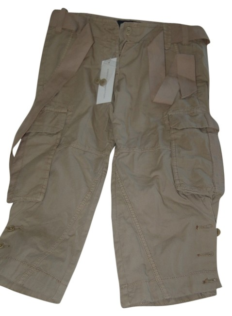 Preload https://item3.tradesy.com/images/french-connection-khaki-cargo-pants-capris-size-2-xs-26-9642037-0-1.jpg?width=400&height=650