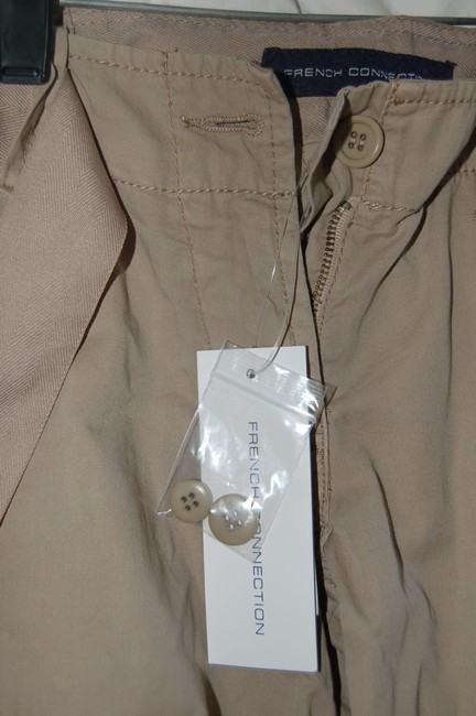 French Connection Cargo Pants Capris Khaki