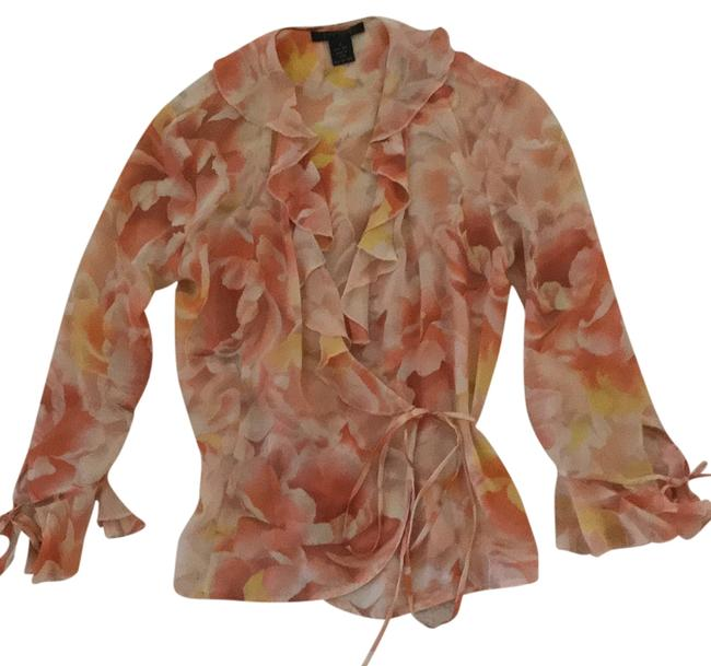 Preload https://img-static.tradesy.com/item/9642154/the-limited-peach-yellow-cream-blouse-size-4-s-0-1-650-650.jpg