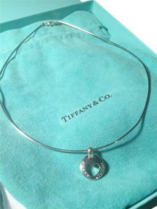 Tiffany & Co. NEW TIFFANY & CO. STENCIL HEART PENDANT NECKLACE