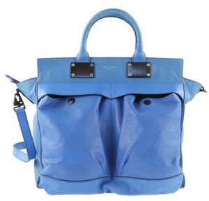 Rag & Bone Satchel in Cobalt Blue