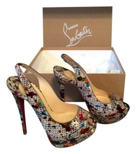 Christian Louboutin Mulitcolor Sandals