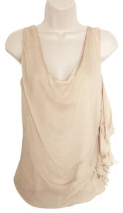 Fendi Silk Top Cream