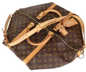Louis Vuitton Keepall Keepall 50 Bandouliere Keepall 50 Bandouliere Lv Keepall Keepall Lv Travel Luggage Hand Luggage M41416 Lv Brown Travel Bag