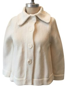 Banana Republic Cotton Chunky Knit Swing Jacket Sweater