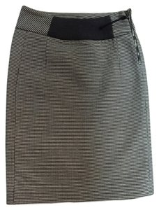 Marni Wool Pencil Skirt Steel Grey
