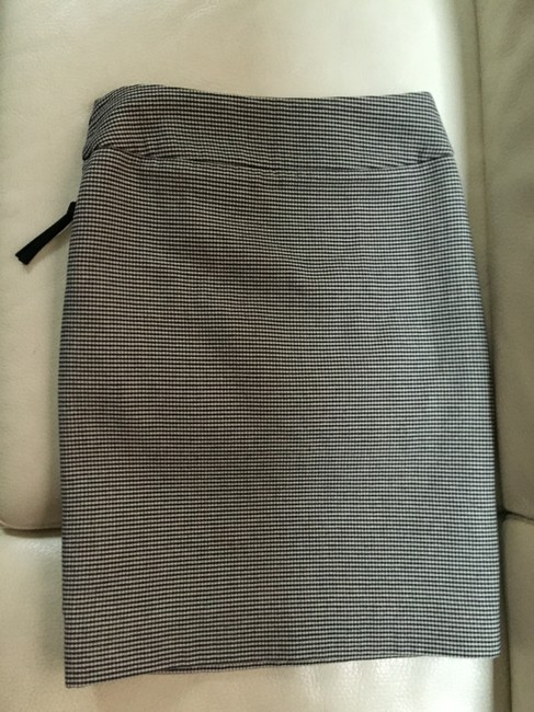 Marni Wool Pencil Woven Detail Skirt Steel Grey
