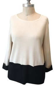 Ann Taylor Soft Color-blocking Boxy Sweater