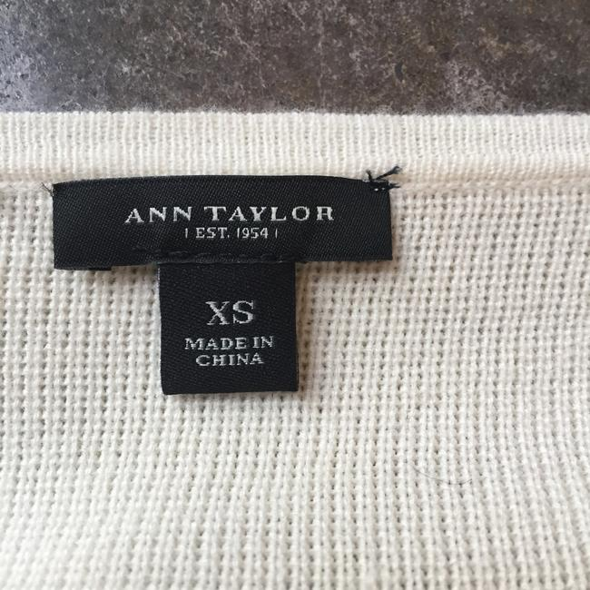 Ann Taylor Soft Color-blocking Sweater