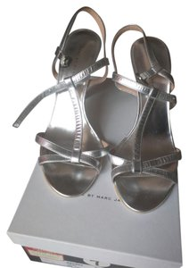 Marc by Marc Jacobs Strappy Heels Silver Sandals