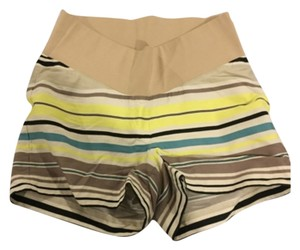 Ann Taylor LOFT Maternity Satiny Stripe Rivera Shorts