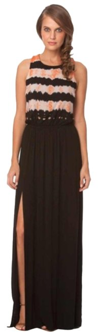 Preload https://item5.tradesy.com/images/gypsy05-black-and-melon-persophone-bamboo-long-casual-maxi-dress-size-12-l-9643819-0-1.jpg?width=400&height=650