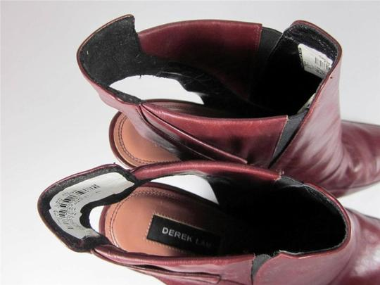 Derek Lam Leather Ankle Brown Boots