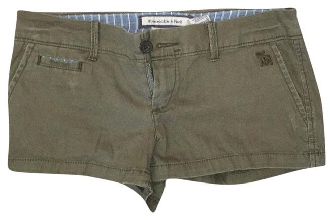 Preload https://item2.tradesy.com/images/abercrombie-and-fitch-green-minishort-shorts-size-0-xs-25-9643831-0-1.jpg?width=400&height=650