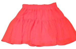 H&M Mini Skirt orange neon