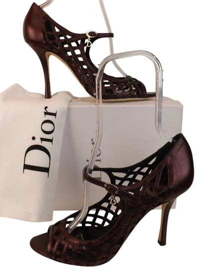 Preload https://item1.tradesy.com/images/dior-plum-metallic-leather-whisper-mary-jane-cage-sandals-pumps-size-eu-40-approx-us-10-regular-m-b-9644425-0-1.jpg?width=440&height=440