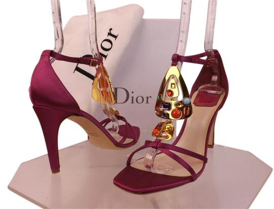 Preload https://item2.tradesy.com/images/dior-pink-fuchsia-satin-multi-color-stones-t-strap-ankle-sandals-pumps-size-eu-39-approx-us-9-regula-9644521-0-1.jpg?width=440&height=440
