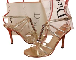 Dior GOLD Pumps