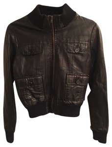 Forever 21 21 Faux Leather 21 Motorcycle Jacket