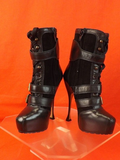 Brian Atwood BLACK Boots
