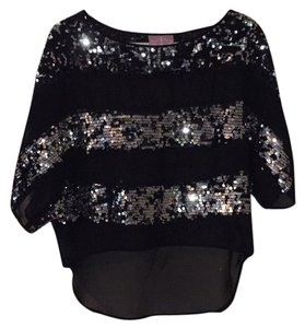 Romeo & Juliet Couture Top Blac