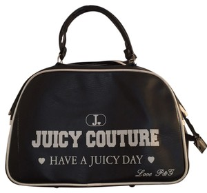 Juicy Couture Black Travel Bag