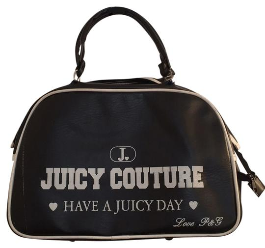Preload https://item4.tradesy.com/images/juicy-couture-bowling-purse-black-weekendtravel-bag-9645463-0-1.jpg?width=440&height=440
