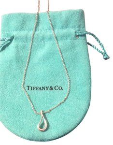 Tiffany & Co. Tiffany & Co. Elsa Peretti Open Teardrop Necklace