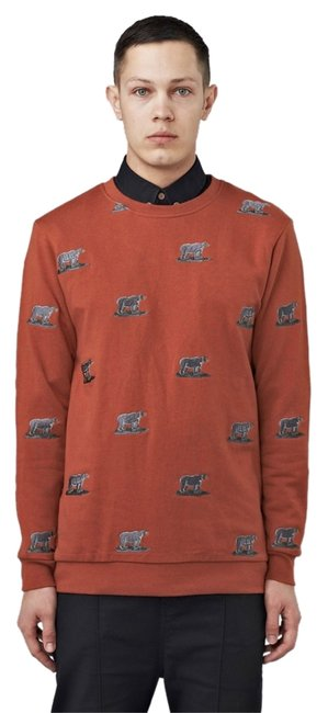 Preload https://img-static.tradesy.com/item/9645658/mens-rusty-red-crew-neck-bear-copper-sweater-0-1-650-650.jpg
