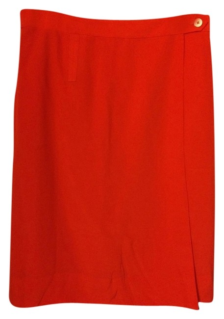 Preload https://img-static.tradesy.com/item/9645907/tory-burch-red-silk-wrap-knee-length-skirt-size-2-xs-26-0-2-650-650.jpg
