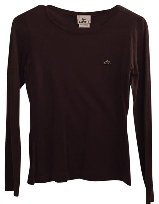 Preload https://item4.tradesy.com/images/lacoste-brown-tee-shirt-size-4-s-9646108-0-1.jpg?width=400&height=650
