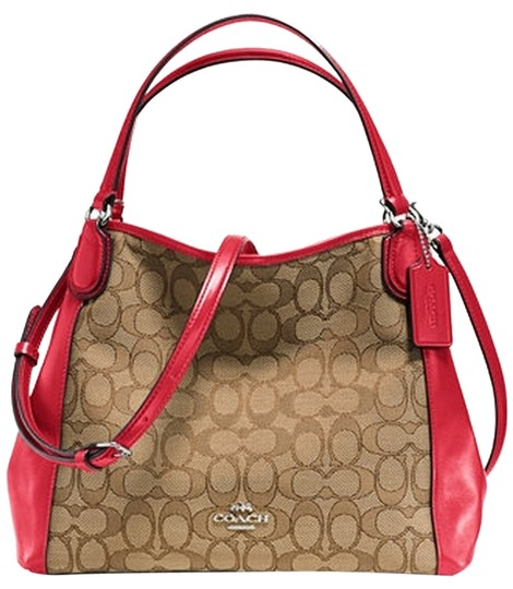 Preload https://item5.tradesy.com/images/coach-new-with-khakired-jacquard-shoulder-bag-9646429-0-1.jpg?width=440&height=440