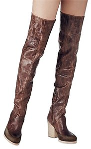 Free People Estates New Distressed brown Boots