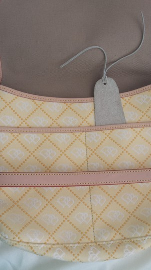 Preload https://item2.tradesy.com/images/dooney-and-bourke-quiled-yellow-canvas-shoulder-bag-9646786-0-1.jpg?width=440&height=440